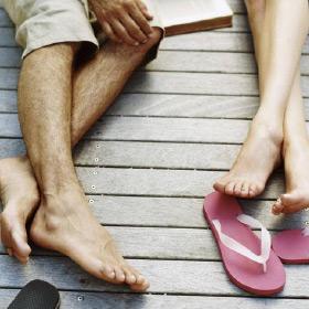 Healthy, summer ready feet